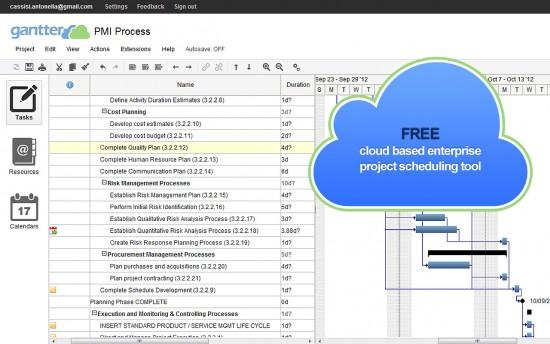 gantter_free-cloud-storage