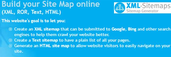 Gratuit: 5 générateurs de Sitemaps pour donner de la visibilité à vos pages 8