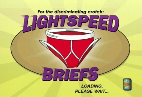 Futurama - Lightspeed Briefs