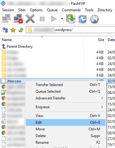 Comment activer la mise en cache du navigateur chez 1and1 ? 4